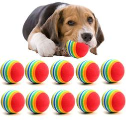1/10Pcs Small Dog Pets Chew Ball Pet Puppies Tennis Balls Pu