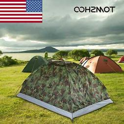 1-2 Person Single Layer Tent Waterproof FOR Outdoor Camping