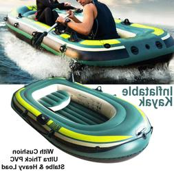 1-3 Person Inflatable Fishing Boat Kayak Raft Fishing Raftin