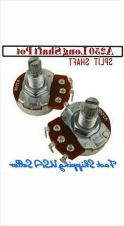 1- A250K Ohm Volume Audio Control Potentiometer Guitar Pots.