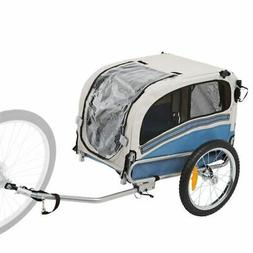 2-in-1 Small Dog Bicycle Trailer and Jogging Stroller