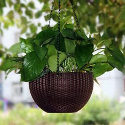 1*Hanging Planter Set Hanging Baskets Pots For Plants Flower