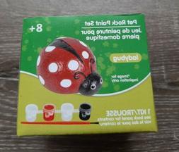 Ladybug Pet Rock Paint Set. Crafts, Kids,  Art Set. Perfect