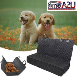 100% Waterproof Dog Carrier Car Pet Seat Backseat Covers for