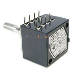 100K Log Audio Amp Volume Control Potentiometer Pot Stereo W