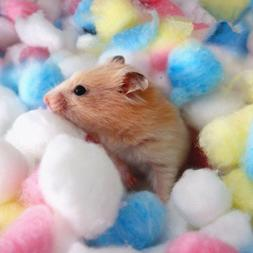 100Pc Pet Hamster Rat Hot Keep Warm Cotton Balls Cage House