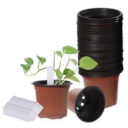 100pcs Nursery Seedlings Pot Plants Flower Seed Starting Pla