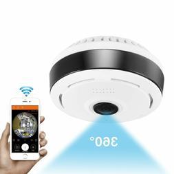 1080P V380 360 degree Panoramic Fisheye Wifi Baby,Pet Securi