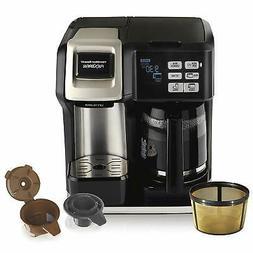 Hamilton Beach 12 Cup Coffee Maker Single Serve Full Pot K C