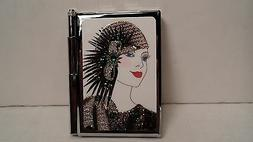 Personalized Expressions 1507 Flapper Girl  Women's Note Pad