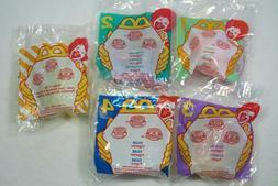 1996 McDonald's Littlest Pet Shop LPS Pets4 PCSet MIP+