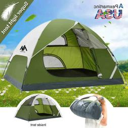 2-3 Person Portable Ultralight Camping Backpacking Tent Wate