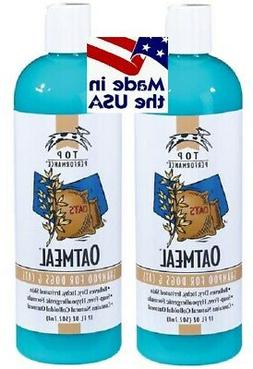 2-Top Performance All Natural OATMEAL SHAMPOO Dry Skin Pet D