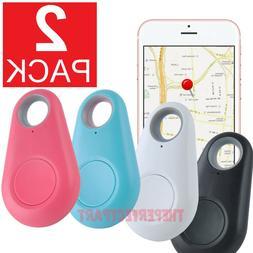 2-PACK Bluetooth Wireless Anti Lost Tracker Alarm Key Pet Fi