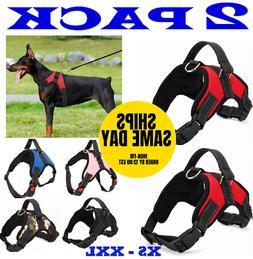 2-PACK Dog Pet Vest Harness Strap Adjustable Nylon Small Med