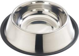 2 Pack - Ethical Pet Feeding Drinking Bowl No-Tip Stainless