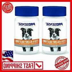 2 PACK  Pro-Sense Itch & Allergy Solutions Pets Dog Puppies