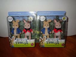 2 Just Play Peter Rabbit Flopsy Official Movie Poseable Coll