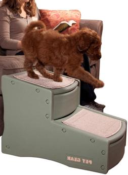 2 Step Premium Pet Ladder Dog Cat Puppy Stairs Steps Ramp Be