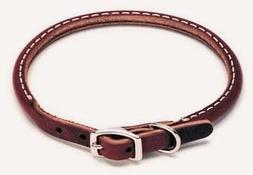 Coastal Pet Products 2205 Leather Latigo Round Dog Collar, 5