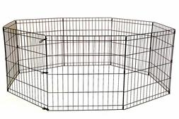 24 30 36 42 Tall Dog Playpen Crate Fence Pet Play Pen Exerci