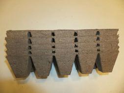 250 cells 25 Jiffy Strips peat pots -10 cells per strip fill