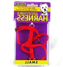 "Aspen Pet 27220 3/8"" X 8"" to 14"" Red Adjustable Harness Item"