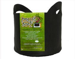 3 Gallon Black Smart Pots w/ Handles - 1 / 5 / 10 Pack Fabri