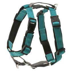 PetSafe 3 IN 1 Dog Harness Large Teal No Pull + Car Restrain