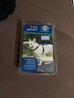 PetSafe 3-in-1 Harness for Dogs - Small - Black New