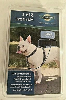 PetSafe 3 In 1 Harness No-Pull Walk Leash Car Safety Padded