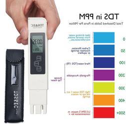 3 in1 Digital TDS EC TEMP Meter Water Quality Tester Purity