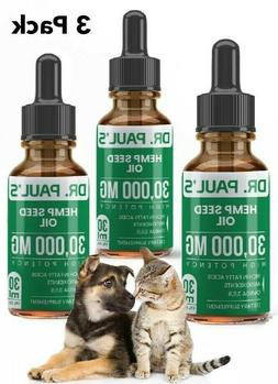 3 pack hemp seed oil for dogs