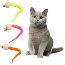 3 pcs 2020 Newest Wiggly Ping Cat Toy - Simulation Worm Toy