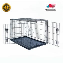 30 dog crate kennel folding pet cage