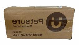 "Petsure 35""x23"" Memory Foam Dog Crate Pad"