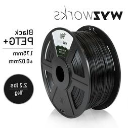 WYZworks 3D Printer Premium PETG Filament 1.75mm 1kg/2.2lb -