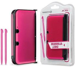 Hyperkin Aluminum Shell with 2 Stylus Pens for 3DS XL