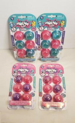 4 NEW Packs Series 2 Pop Pops Pets 6 Bubbles Per Pack Kids T