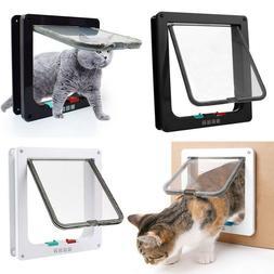 4 Way S/M/L/XL Size Pet Cat Supplies Lock Lockable Safe Hole