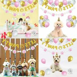 44 Pack Lets Pawty Puppy Girls Birthday Favors│Pet Adoptio
