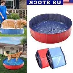 "48"" 63"" Foldable Pet Bath Pool Collapsible Dog Pool Pet Bath"