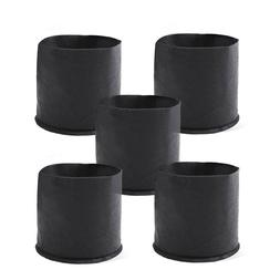 5 Packs Fabric Plant Pots Grow Bags 3 Gallons w/ Handles 2 G