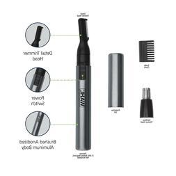 Wahl 5640-600 Micro GroomsMan Personal Pen Trimmer - Black/G