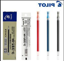5x Pilot Hi Tec C BLACK Blue Red Refills Ink Pens 0.3mm Japa