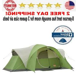 Coleman 8 Person Tent for Camping  Easy Setup tents new best