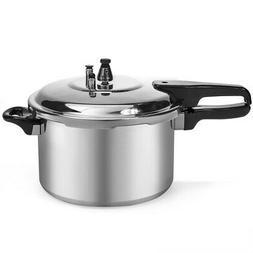 8-Quart Aluminum Pressure Cooker Fast Cooker Canner Pot Kitc