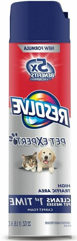 Resolve 83262 Pet Expert Stain & Odor Remover Foam, FREE SHI