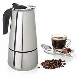 9 Cup Coffee Maker Stovetop Espresso Coffee Maker Moka Coffe