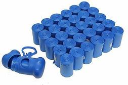 902 PET DOG WASTE POOP BAGS / DISPENSER BLUE CORELESS